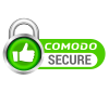 Comodo Validation Cert at the bottom left