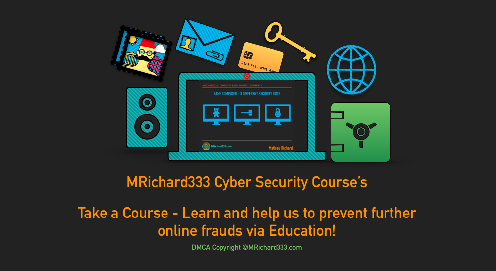 MRichard333 Cyber Security Courses